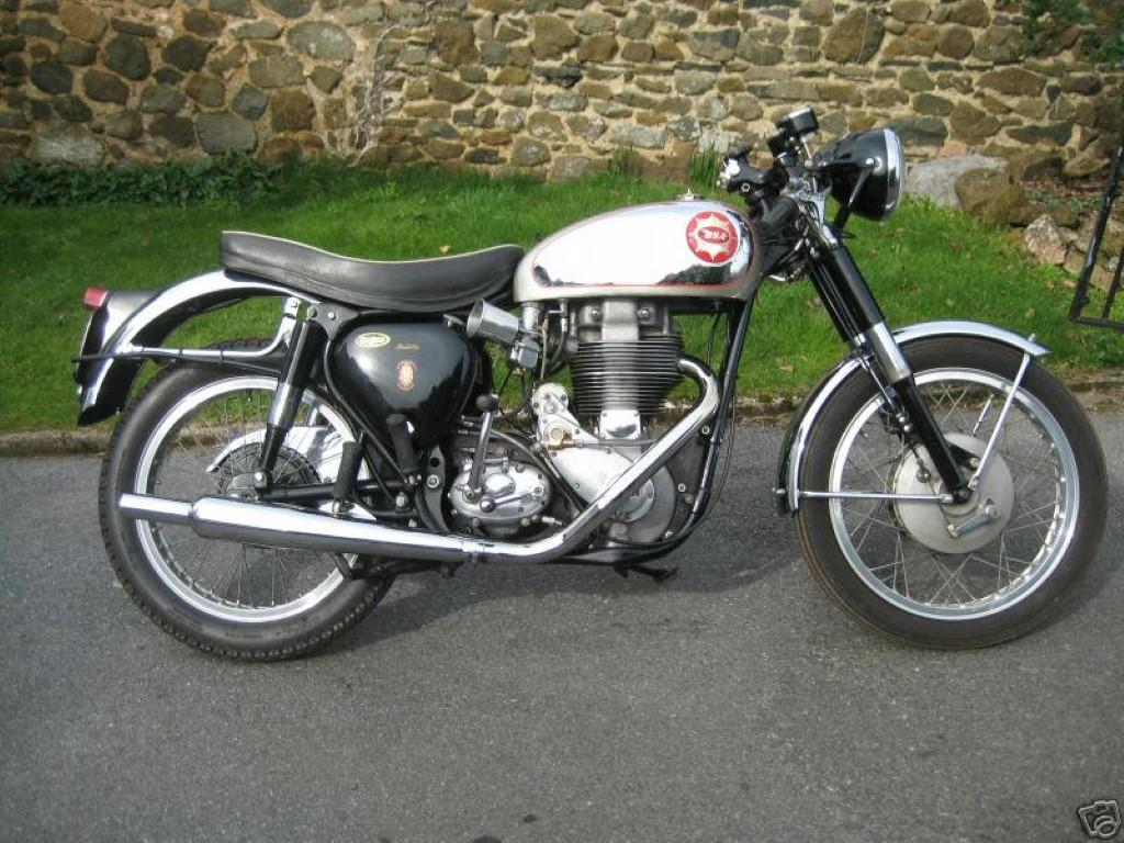 BSA SS 500 Gold Star