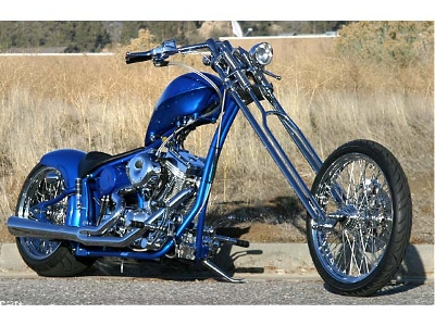 Big-Bear-Choppers Merc Softail 100 Carb