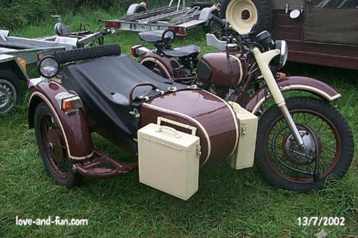 Dnepr MT 16 (with sidecar)