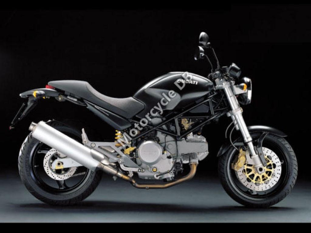 Ducati 620 Monster i.e. Dark Single Disc