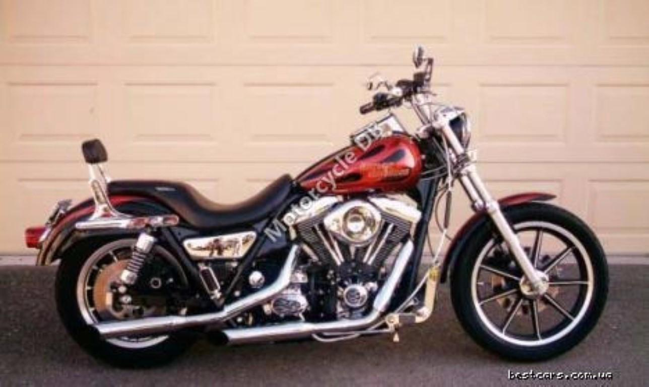 Harley-Davidson 1340 FLHTC (with sidecar) (reduced effect)