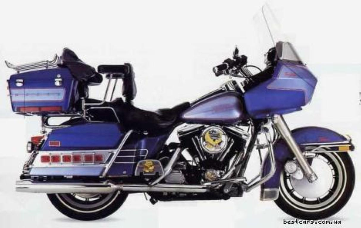 Harley-Davidson 1340 FLTC (with sidecar) (reduced effect)