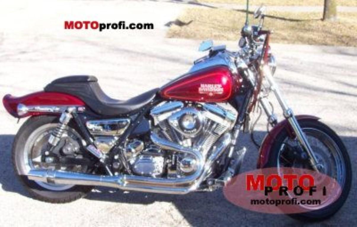 Harley-Davidson 1340 Low Rider FXRS (reduced effect)