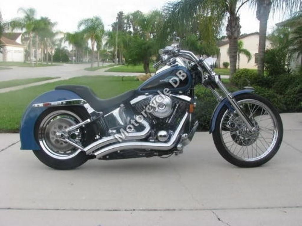 Harley-Davidson 1340 Softail FXST (reduced effect)