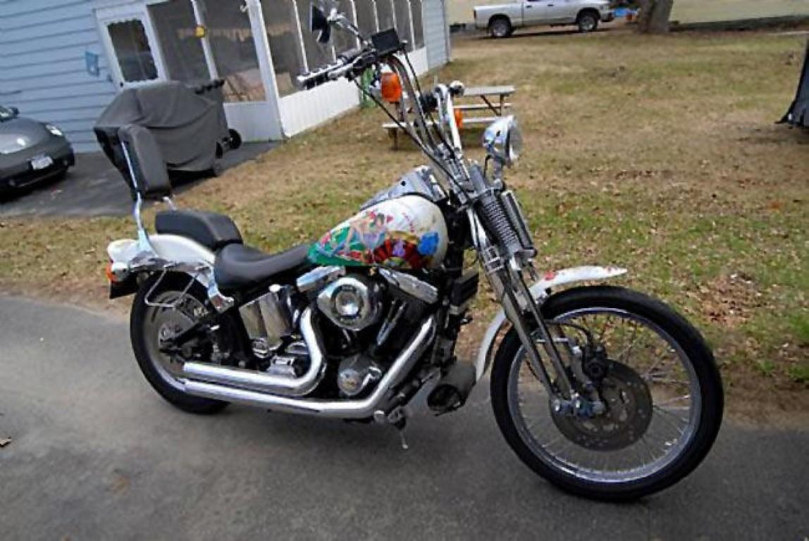Harley-Davidson 1340 Softail Springer (reduced effect)