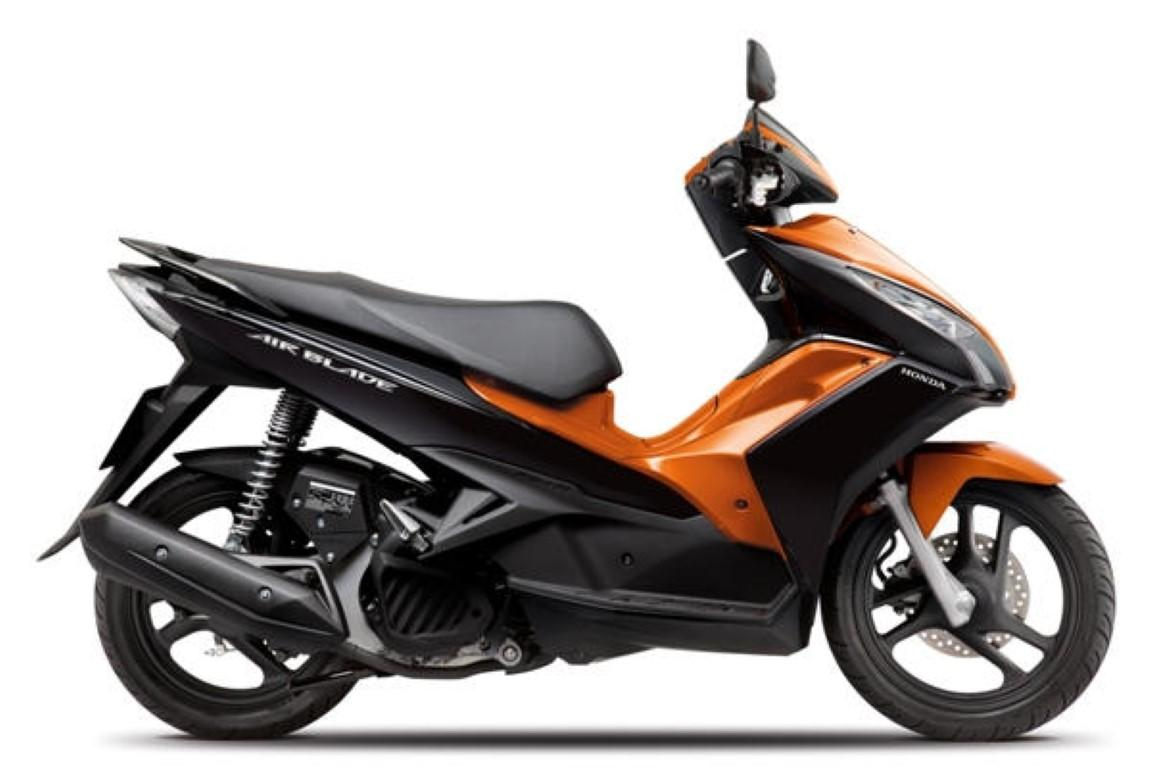 HONDA Airblade. Technical Data Of Scooters. Scooters Fuel