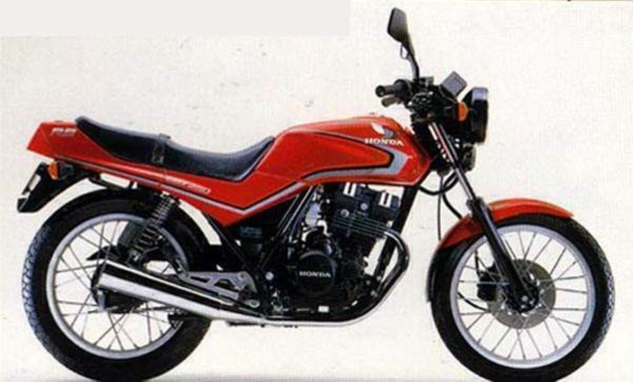 Honda CB 250 RS (reduced effect)