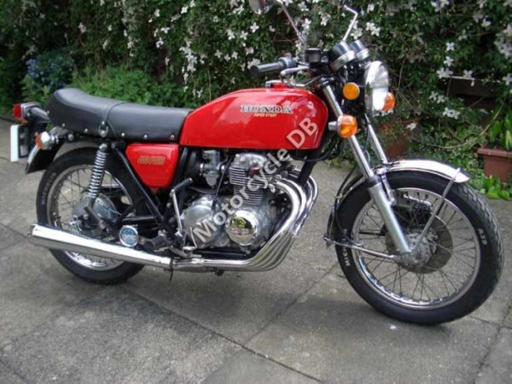 Honda CB 400 N (reduced effect)