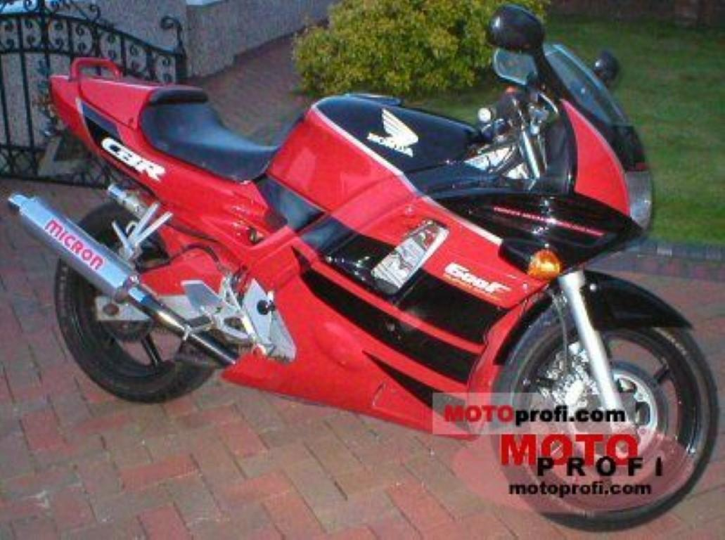 Honda CBR 600 F (reduced effect)