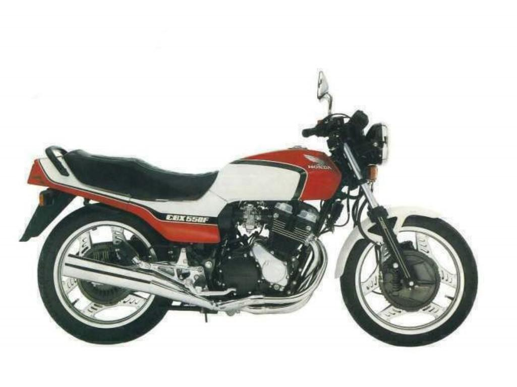 Honda CBX 550 F (reduced effect)