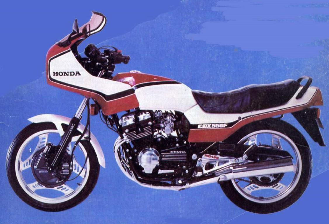 Honda CBX 550 F 2 (reduced effect)