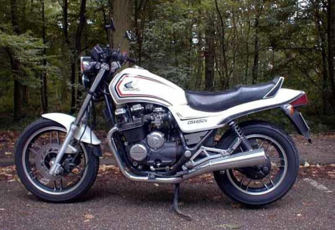 Honda CBX 650 E (reduced effect)