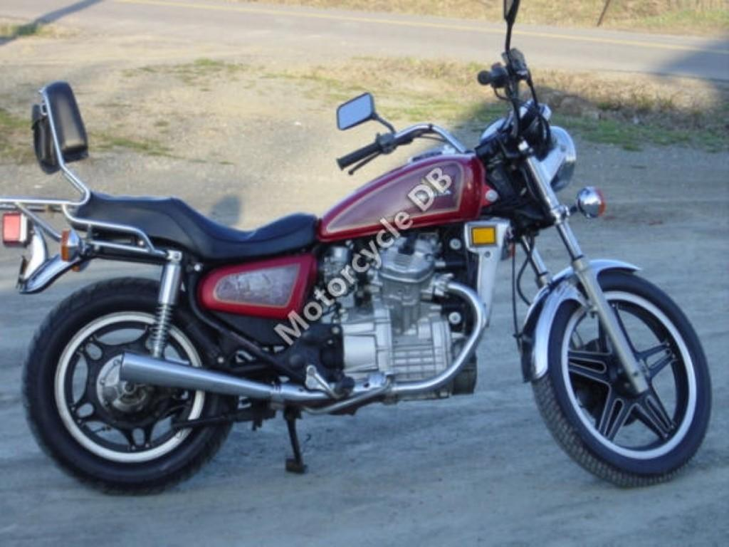 Honda CX 500 (reduced effect)