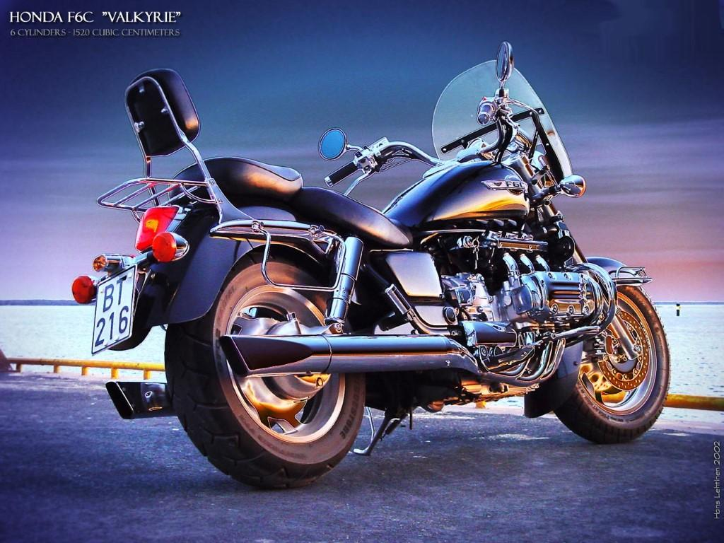 HONDA GL 1500 Valkyrie. Technical data of motorcycle ...