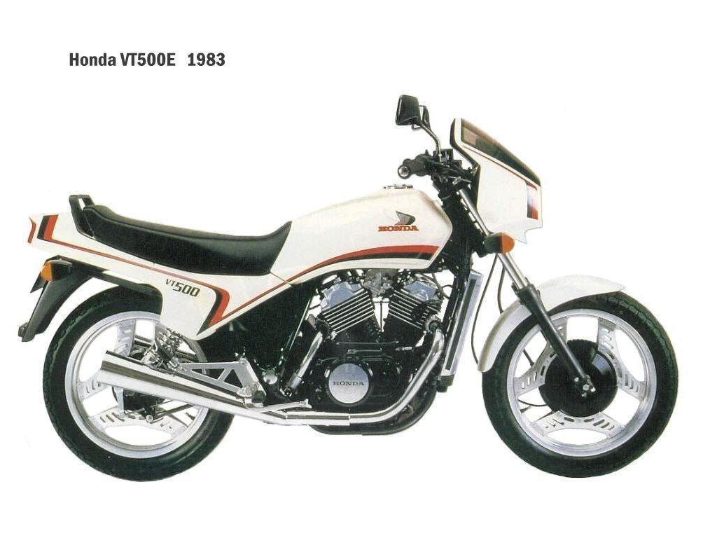 Honda VT 500 E (reduced effect)