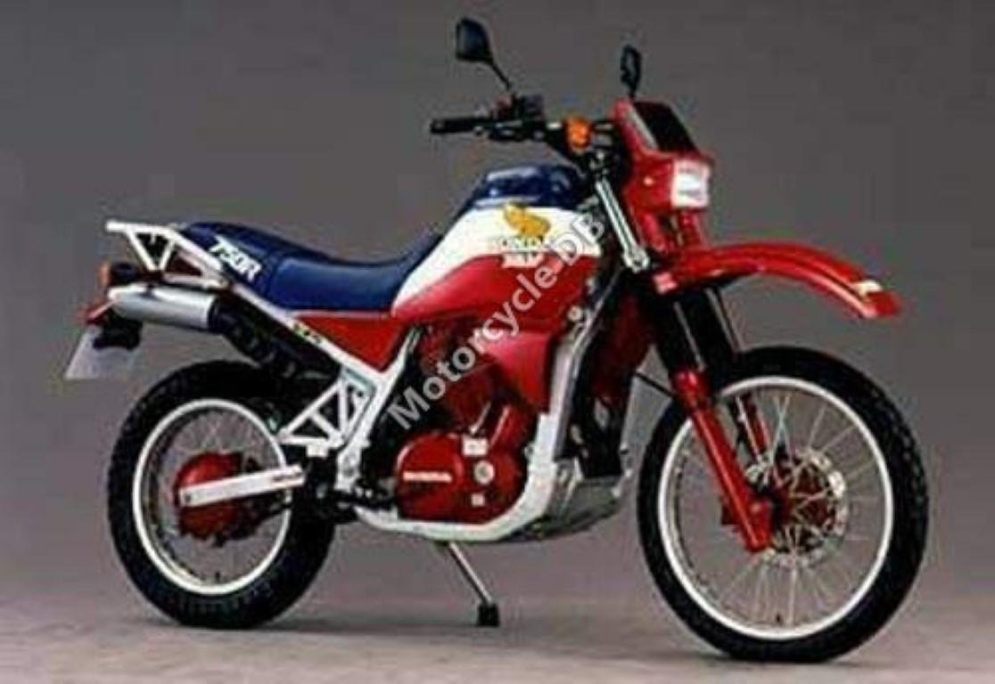 Honda XLV 750 R (reduced effect)