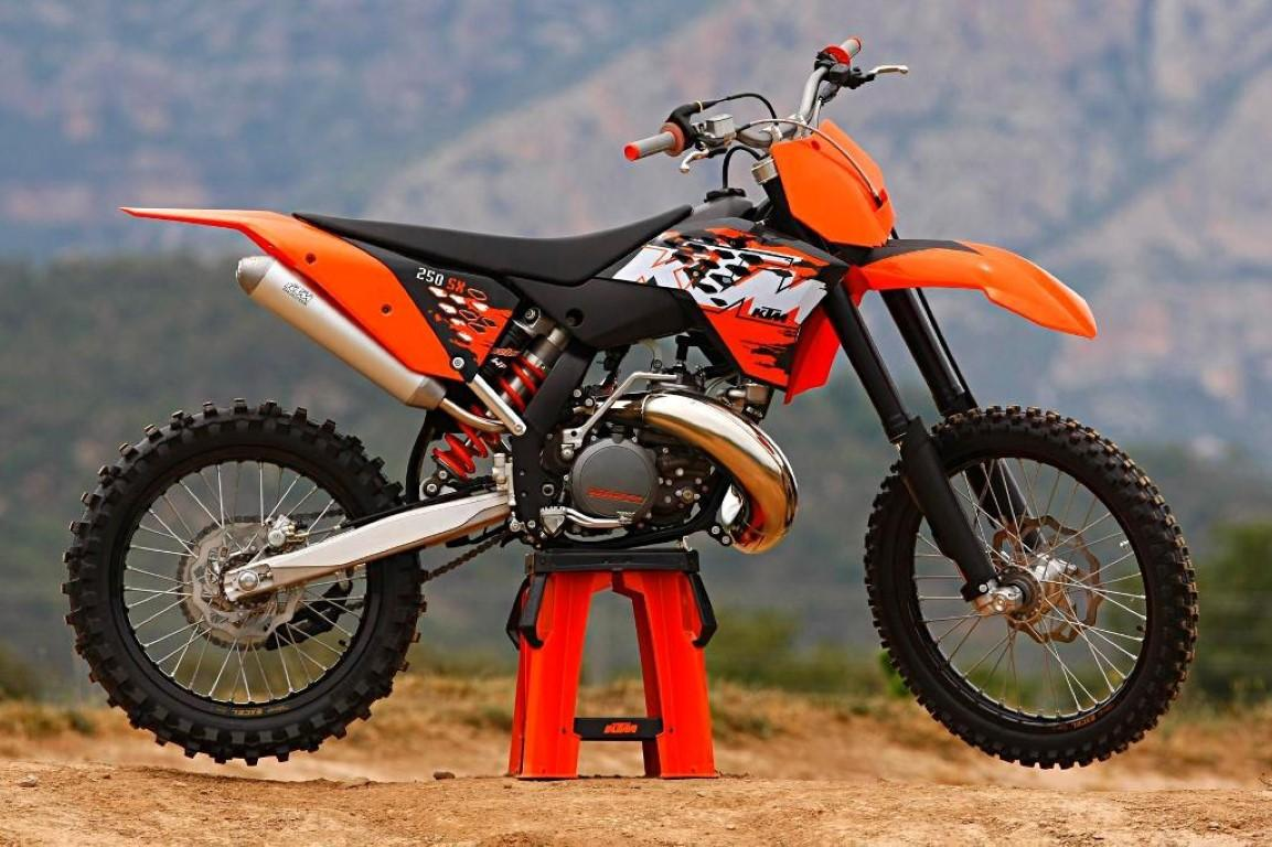 Ktm 250 Sx 2003 Technical Data Power Fuel Consumption