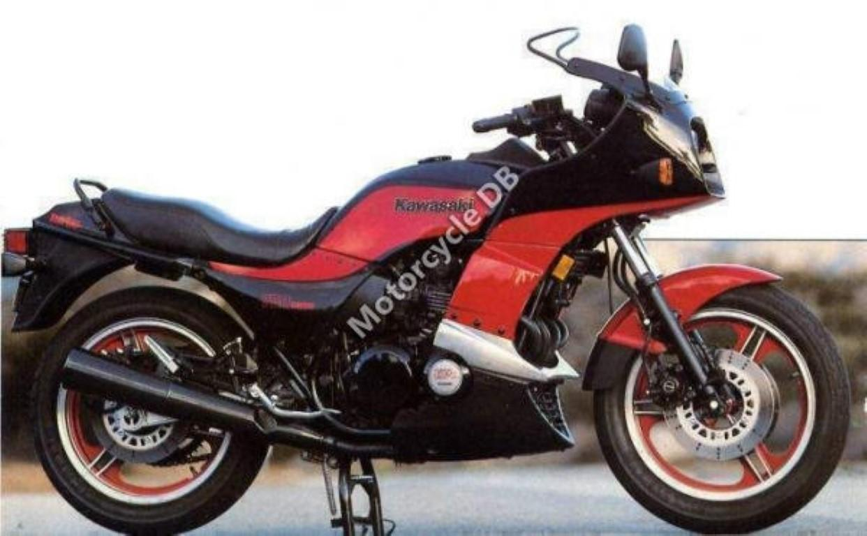 Kawasaki GPZ 1100 (reduced effect)