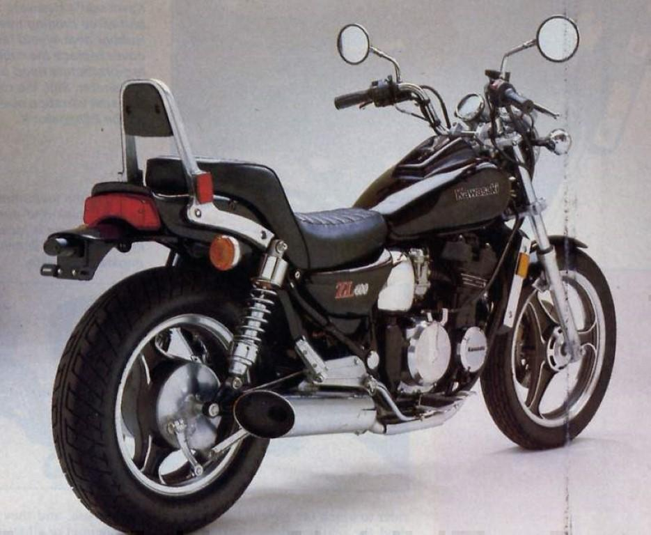 Kawasaki ZL 600 (reduced effect)