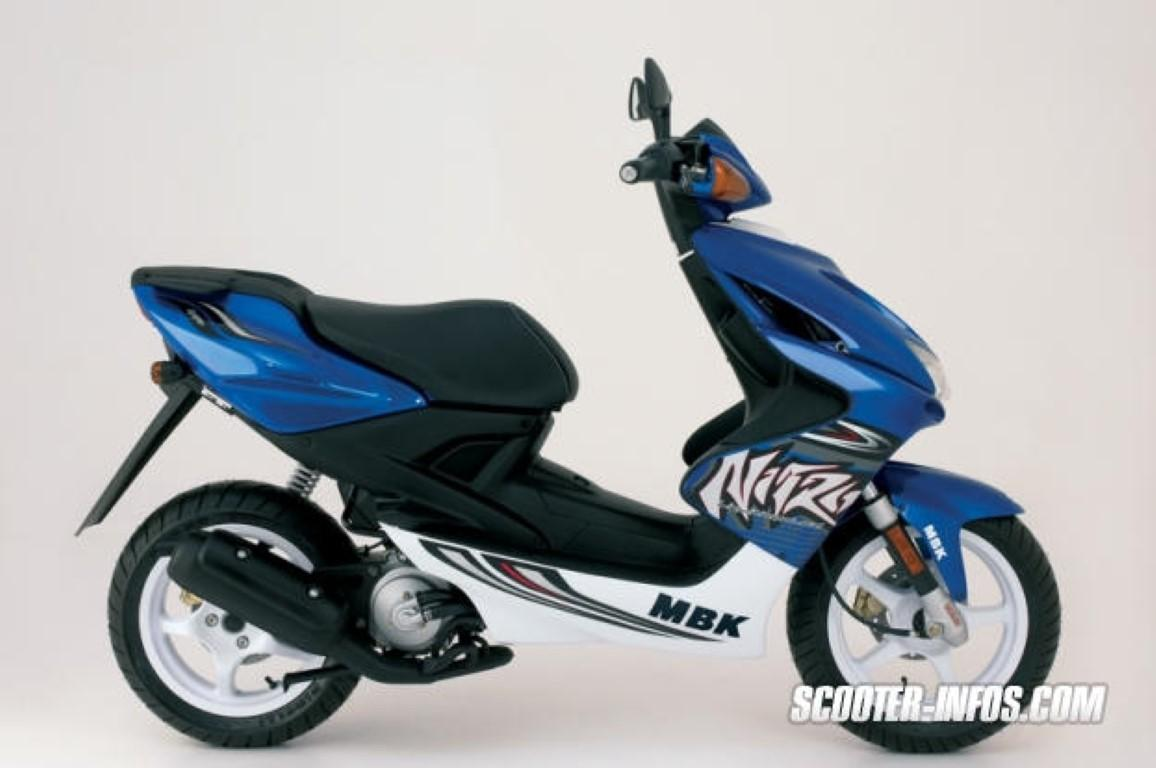 mbk nitro technical data of scooters scooters fuel economy information. Black Bedroom Furniture Sets. Home Design Ideas