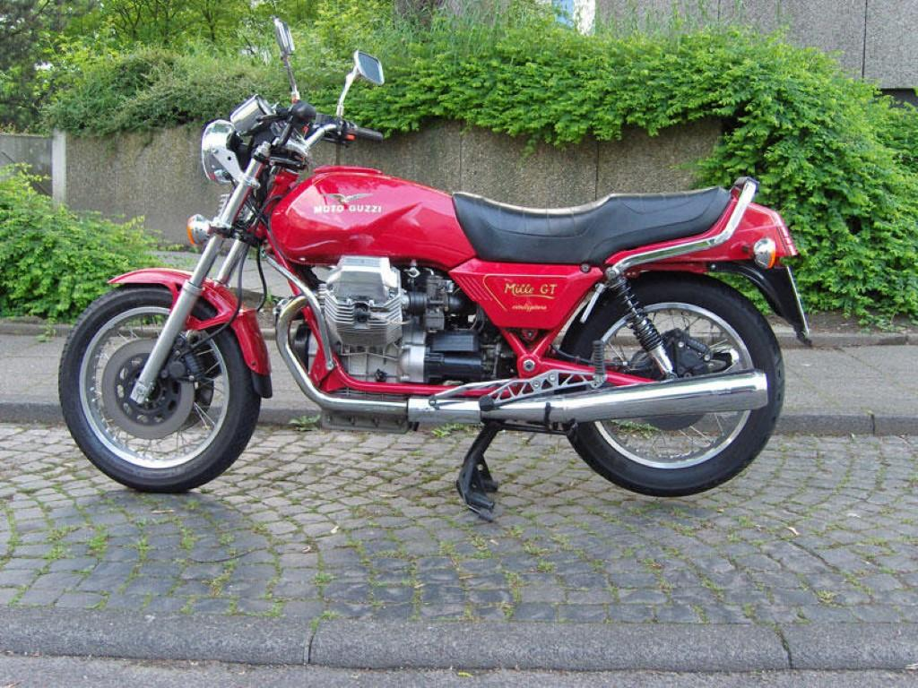 Moto-Guzzi Mille GT (reduced effect)