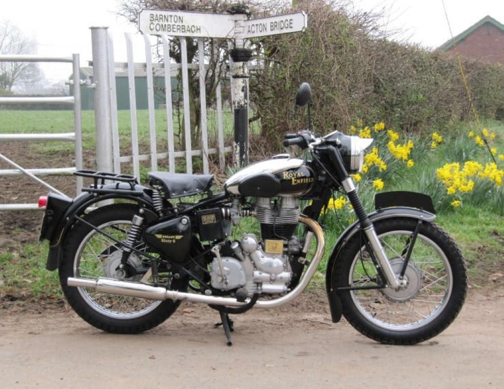 Royal-Enfield 500 Bullet Sixty-Five