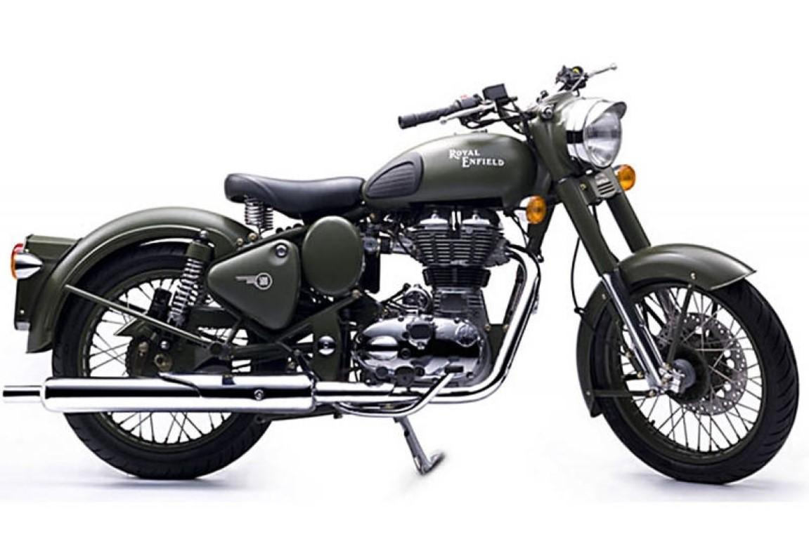 Royal-Enfield 500 Classic Outfit