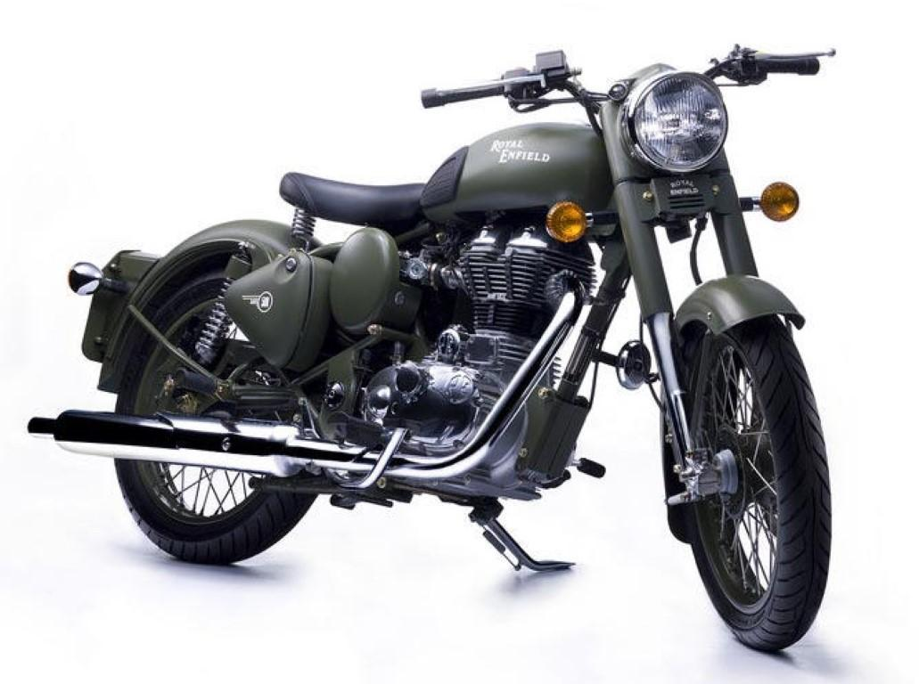 Royal-Enfield Classic Battle Green