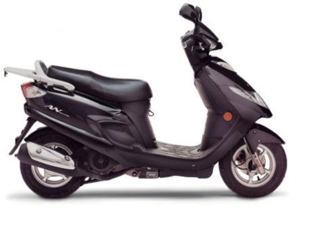 suzuki an 125 technical data of scooters scooters fuel economy information. Black Bedroom Furniture Sets. Home Design Ideas