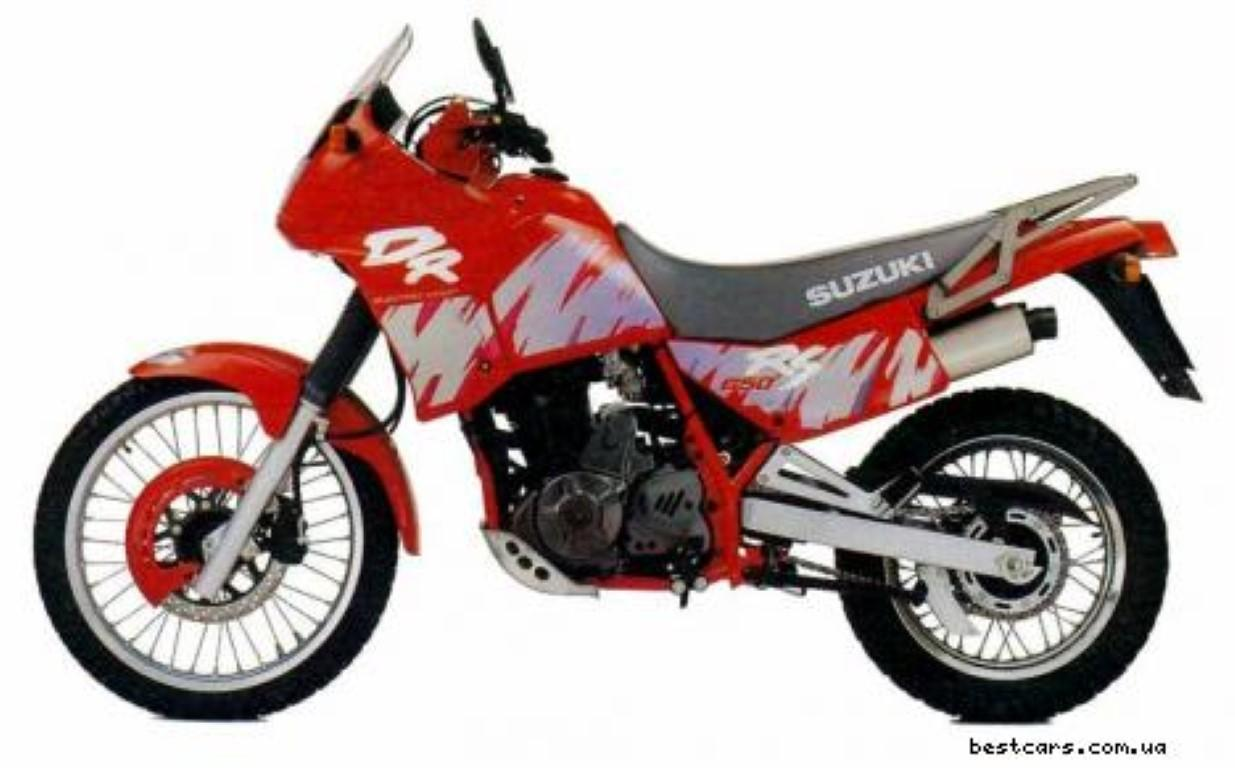 Suzuki DR 650 RS (reduced effect)