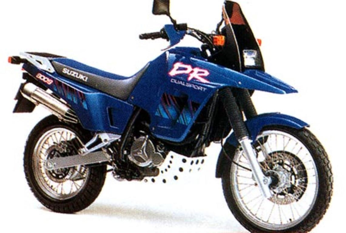 Suzuki DR Big 800 S (reduced effect)
