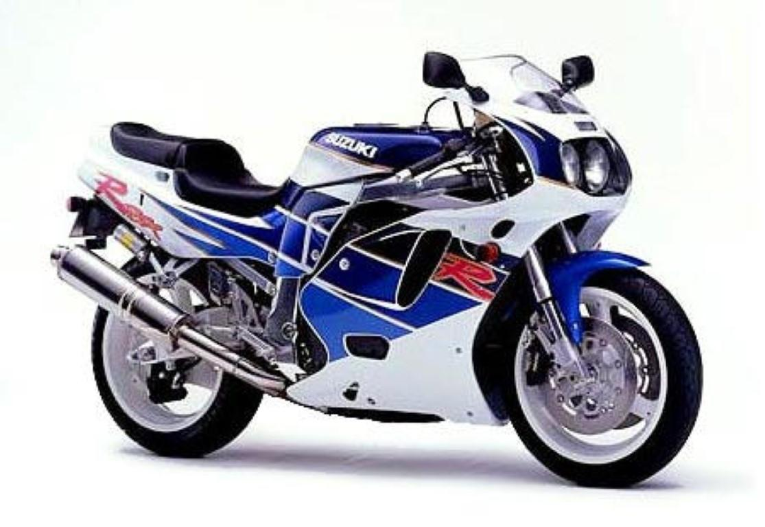 Suzuki GSX-R 750 W (reduced effect)