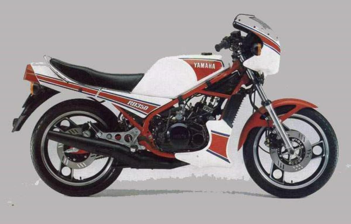 Yamaha RD 350 LC YPVS (reduced effect)