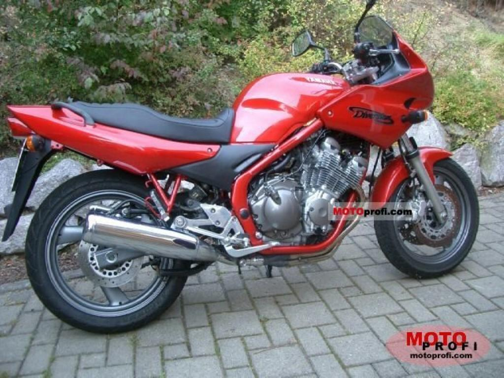 Yamaha XJ 600 S Diversion (reduced effect 2)