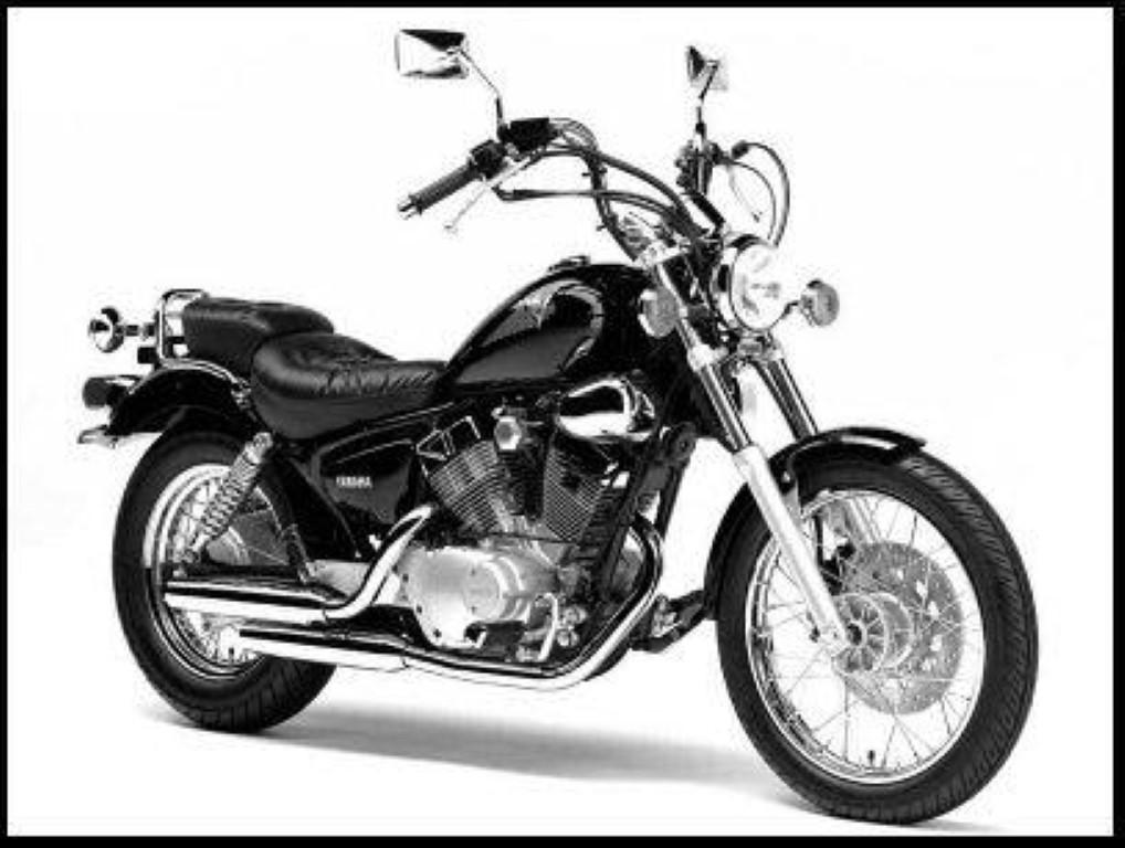 Yamaha XV 250 Virago (reduced effect)