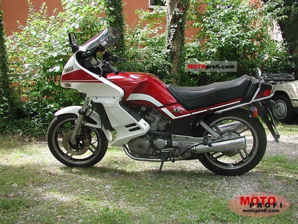 Yamaha XZ 550 (reduced effect)